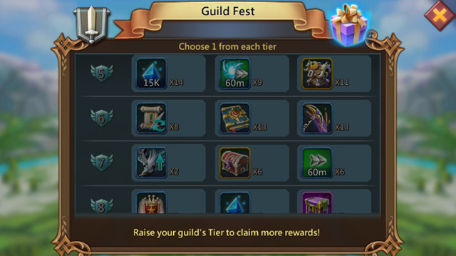 Lords Mobile: How to Reaching Tier 20 In Guild Fest